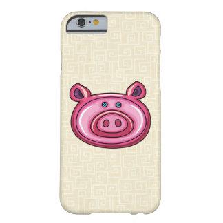Cerdo lindo funda de iPhone 6 barely there