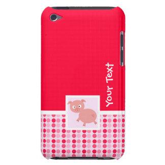 Cerdo lindo barely there iPod fundas