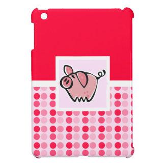 Cerdo lindo iPad mini funda