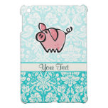 Cerdo; Lindo iPad Mini Funda