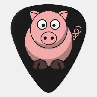Cerdo lindo púa de guitarra
