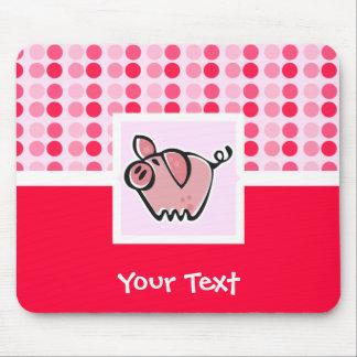 Cerdo lindo alfombrillas de ratones