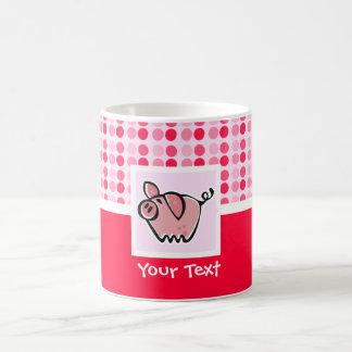 Cerdo lindo taza clásica