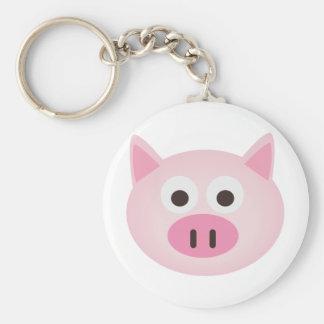 Cerdo Llaveros
