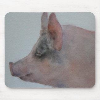 Cerdo Mousepad de Penélope Tapetes De Raton