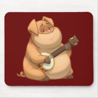 Cerdo Mousepad del Banjo-Strummin'