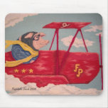 Cerdo Mousepad del vuelo Alfombrilla De Raton