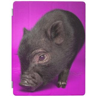 Cerdo negro del bebé cover de iPad