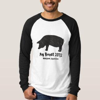 Cerdo negro remeras