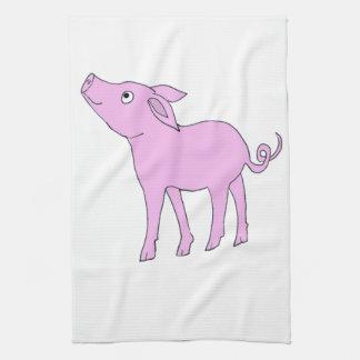 cerdo toalla de cocina