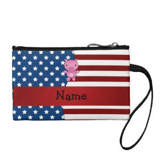 Cerdo patriótico conocido personalizado