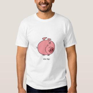 cerdo playeras