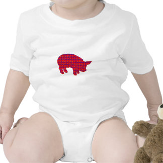 Cerdo Reddd Trajes De Bebé