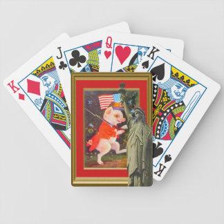 Cerdo revolucionario cartas de juego