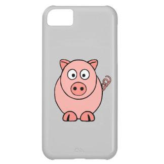 Cerdo rosado carcasa iPhone 5C