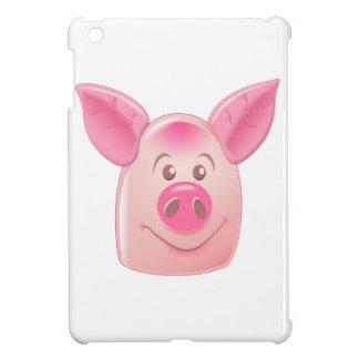 Cerdo rosado iPad mini carcasas