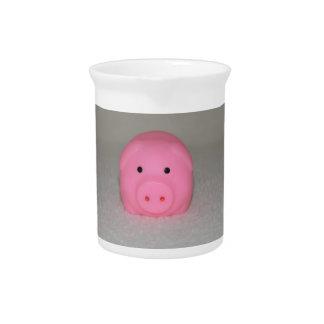 Cerdo rosado guarro jarras de beber