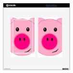 Cerdo rosado lindo kindle fire pegatina skin
