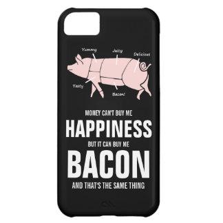 Cerdo rosado sabroso jugoso divertido del amante d funda para iPhone 5C