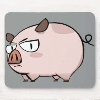 Cerdo rudo Mousepad Alfombrilla De Ratones