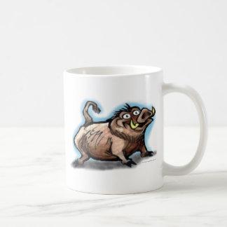 Cerdo salvaje tazas de café