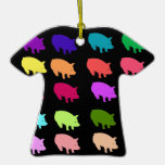Cerdos del arco iris adorno