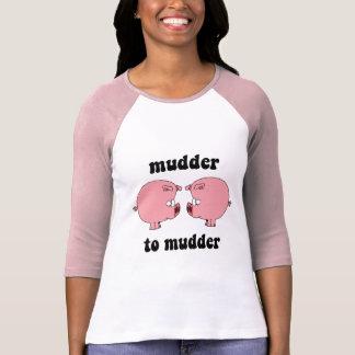 Cerdos divertidos y lindos camisetas