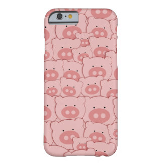Cerdos guarros rosados funda barely there iPhone 6