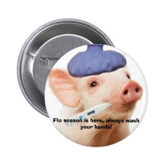 Cerdos H1N1 Pins