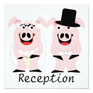 Cerdos que igualan a la recepción comunicado personal