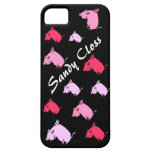 CERDOS rosados que vuelan, su texto aquí iPhone 5 Case-Mate Cobertura