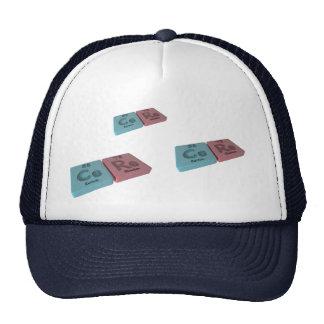 Cere as Ce Cerium and Re Rhenium Trucker Hat