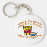Cereal All The Time Key Chains