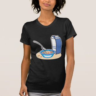 cereal and milk tee shirt