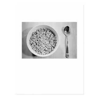 Cereal and Spoon Post Cards