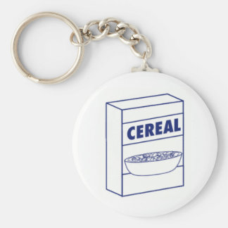 Cereal Box Keychain