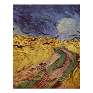 cereal box with the crows by Vincent van Gogh Poster