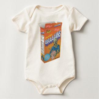 Cereal de desayuno del zombi body de bebé