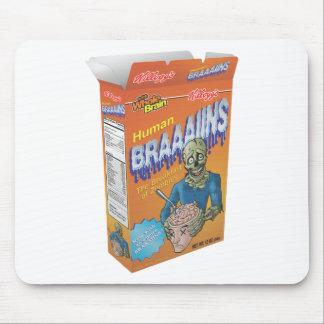 Cereal de desayuno del zombi tapetes de ratón