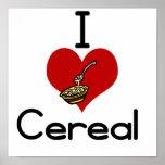 Cereal del amor-corazón I Poster