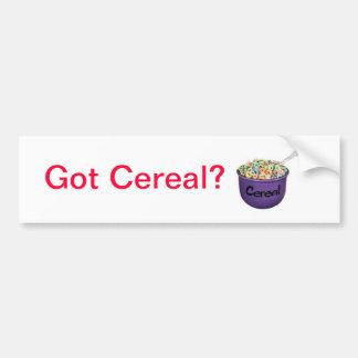 cereal, Got Cereal? Bumper Sticker