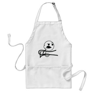 cereal guy adult apron
