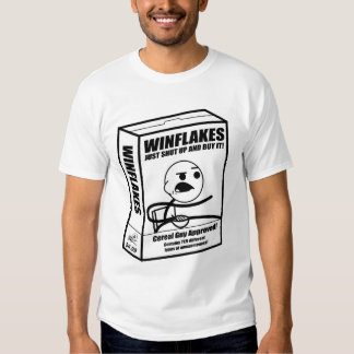 Cereal Guy Box (Black and White) T-Shirt