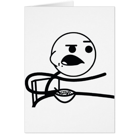 Cereal Guy Card