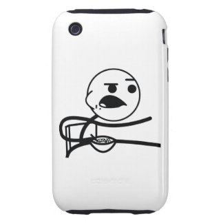 Cereal Guy iPhone 3 Tough Case
