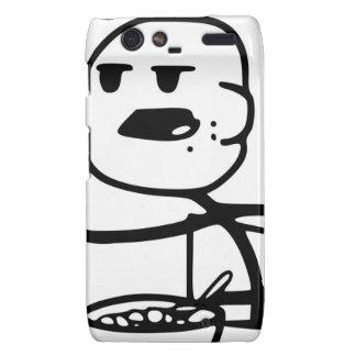 Cereal Guy Meme Motorola Droid RAZR Cases