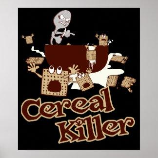 Cereal Killer $24.90 Poster