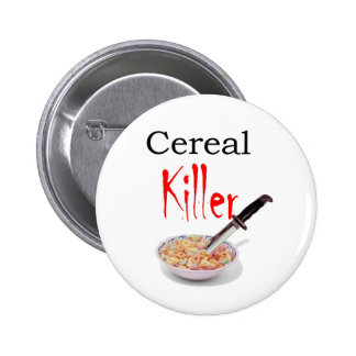 Cereal Killer 2 Inch Round Button