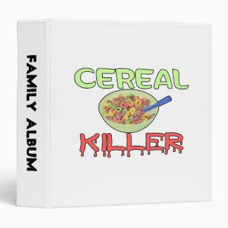 Cereal Killer 3 Ring Binder