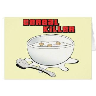 cereal killer card
